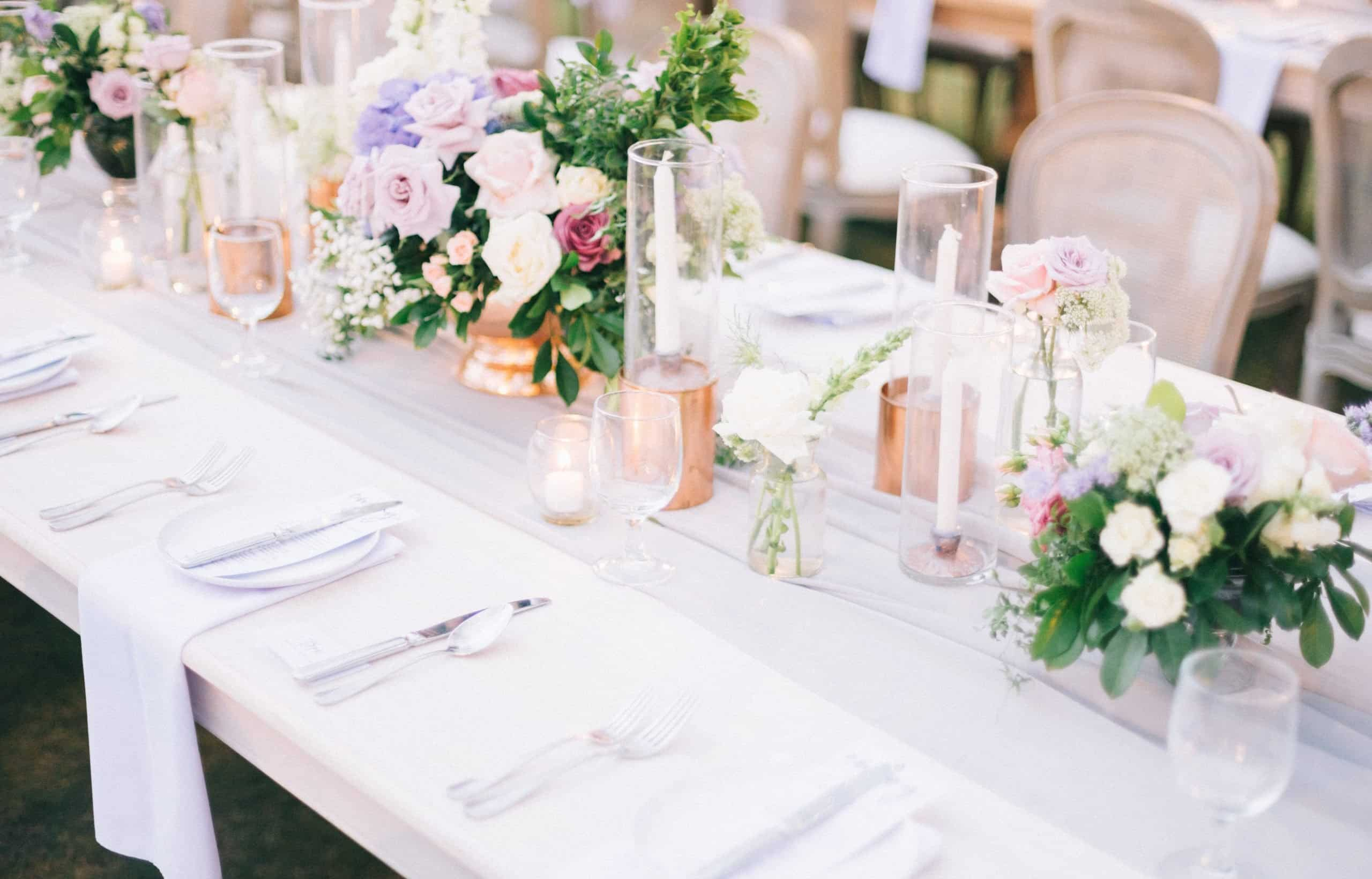 Tips For The Perfect Wedding Tablescape